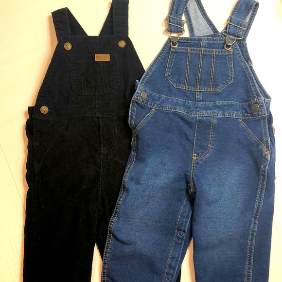 Toddler boys overalls 18 months gently worn